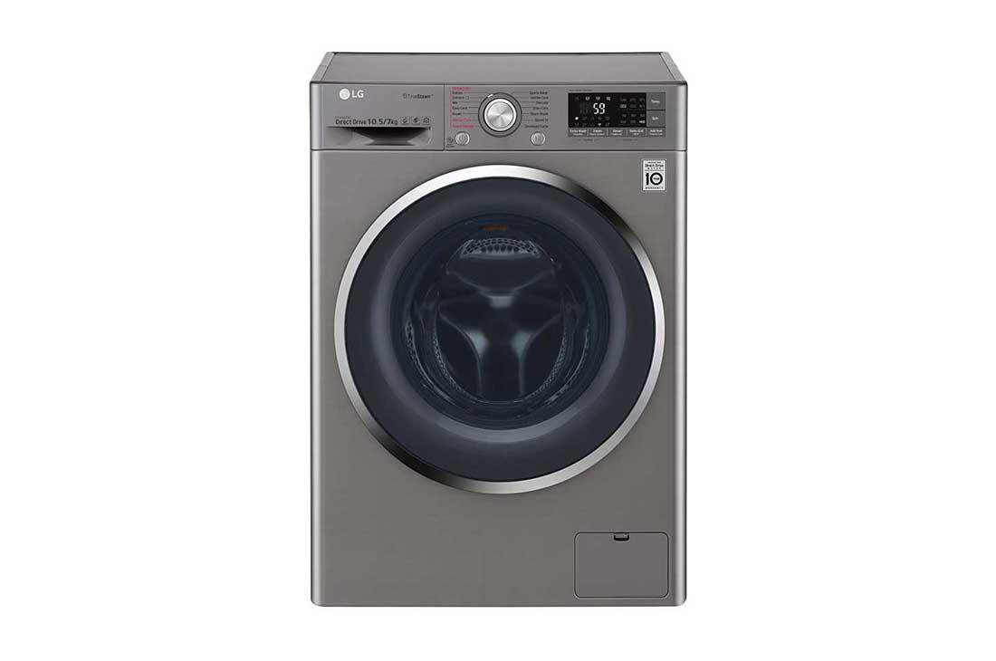 Lg 10 5 7kg Eco Hybrid Washer Dryer Fh4u2jhp2d Lg South Africa
