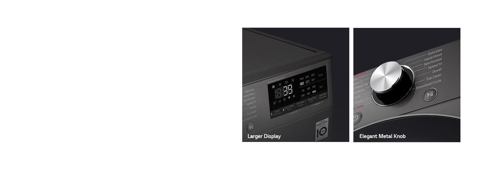 LG F4V9BWP2E 12 kg More Visible and Elegant